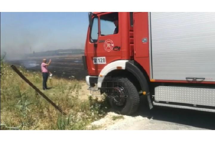 Përfshihen nga flakët tokat me grurë të Institutit të Teknologjisë Bujqësore në Lushnjë, rrezikojnë shtëpitë dhe banesat