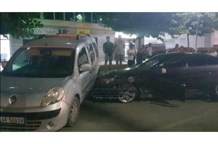 Dy automjete përplasen në rrugën transballkanike.