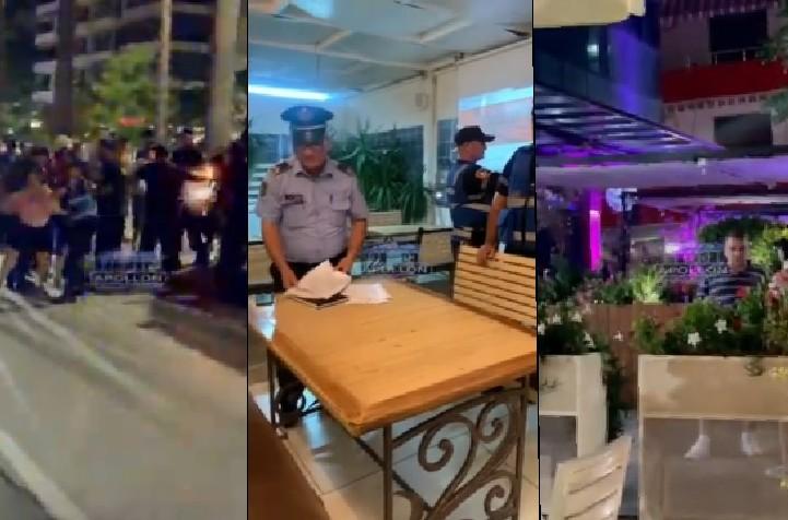 Policia zbarkon në bizneset e Vlorës.
