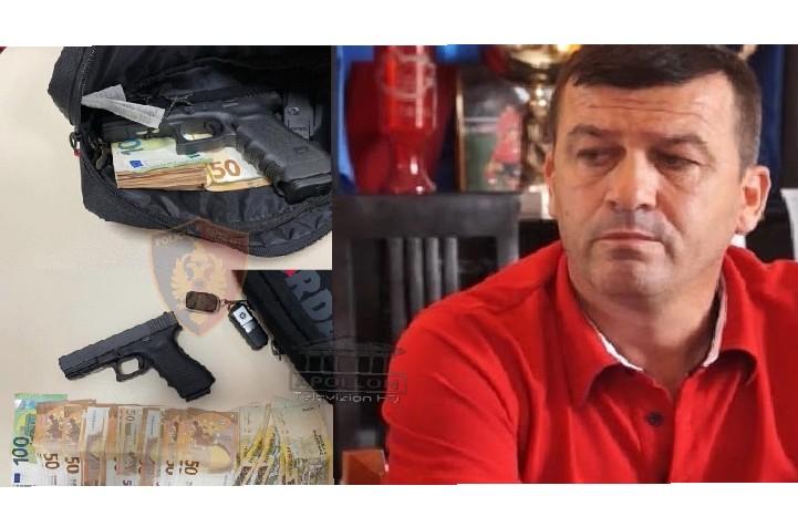 """Arrestimi i biznesmenit Isuf Isufi në Shkodër: """"Shqiponjat"""" e pritën në """"Perash"""", me vete kishte pistoletën pa leje dhe çantën me para"""