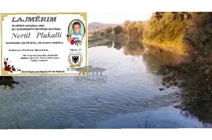 Gjendet i pajetë në lumin Osum 7- vjeçari nga Morava.