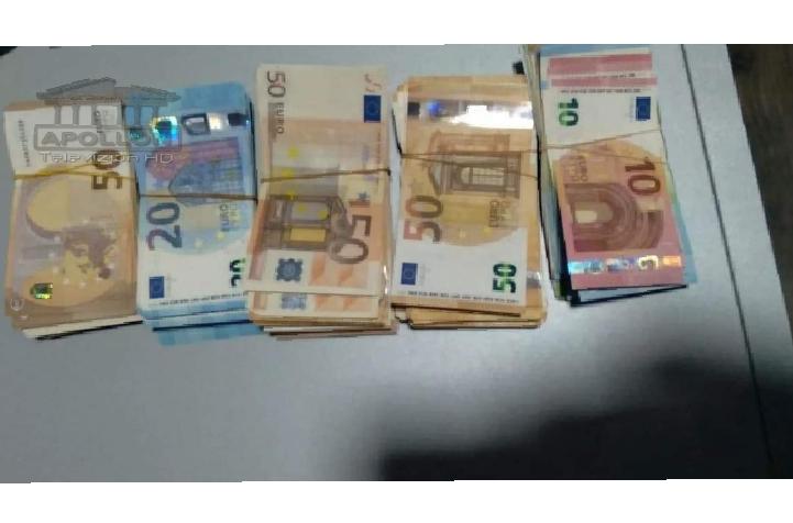 Frontex gjen çantën e 58- vjeçares me 20080 euro të padeklaruara