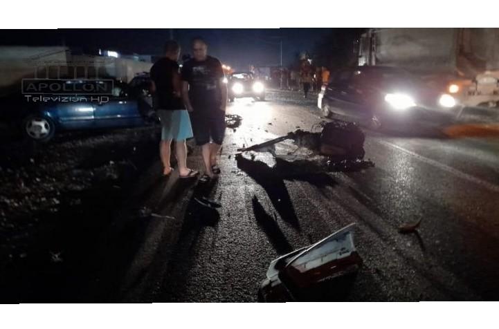 Një i VDEKUR nga aksidenti i tmerrshëm në Fushë-Krujë, dy të plagosurit me urgjencë në spital