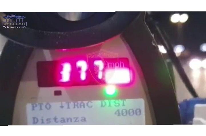 Me shpejtësi deri në 177 km/h, arrestohen 7 shoferë që nuk respektojnë rregullat