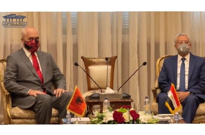 Vizita në Egjipt, Rama takohet me kreun e Parlamentit, diskutohet për forcimin e marrëdhënieve mes dy vendeve